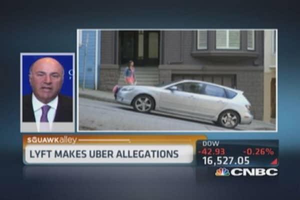 Uber sabotaging Lyft?
