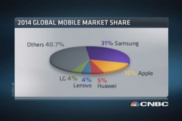 Tale of 2 smartphone markets