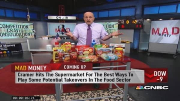Packaged food plays a growth wasteland: Cramer