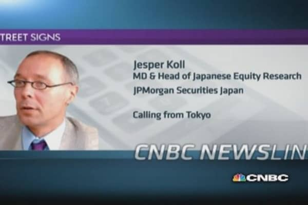 Japan is ready to rebound: JPMorgan