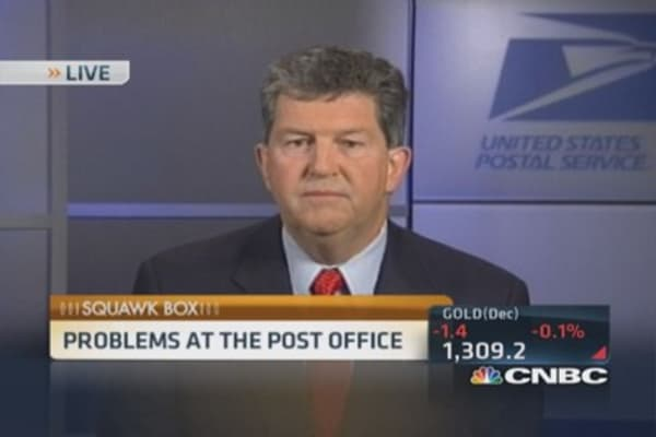 USPS in distress: CEO