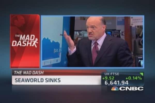 Cramer's Mad Dash: SEAS sinks