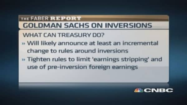Faber Report: New wave of tax inversions?