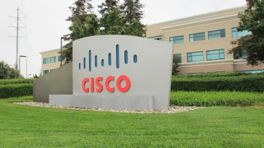 Cisco headquarters in San Jose, Calif.
