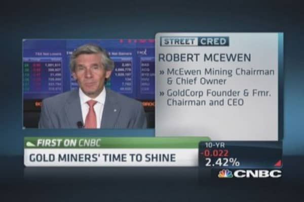 Miners' time to shine?