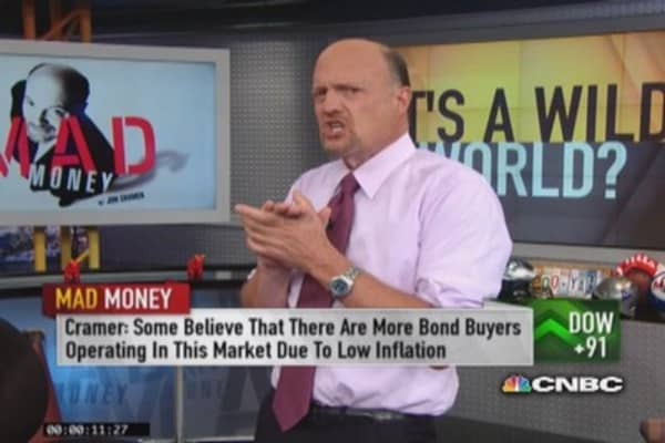 Cramer: What moved the market into the green