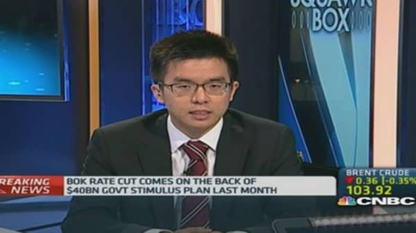 BOK rate cut will accelerate growth: HSBC