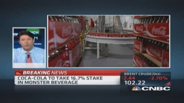 Great deal for Coca-Cola: Trader
