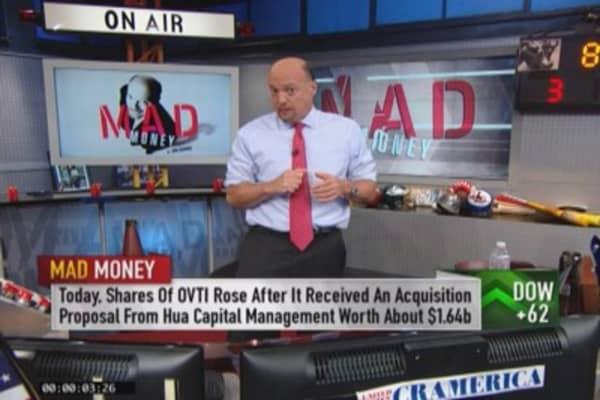 In bull market, you get lucky: Cramer