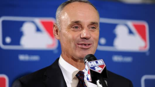 Rob Manfred, commissioner of Major League Baseball