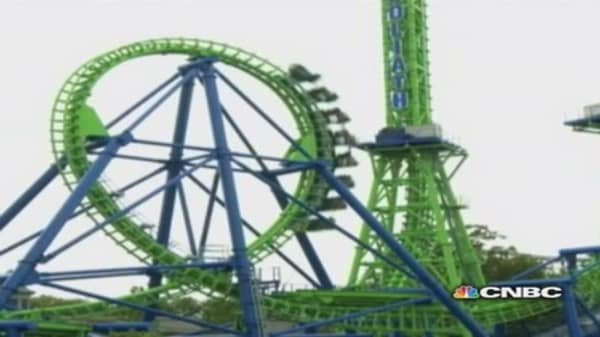 Record-holding roller coasters