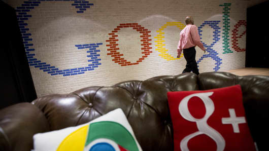 The Google office in Washington, D.C.