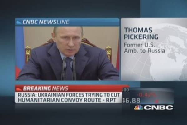 Pickering: Putin's penchant for making things worse