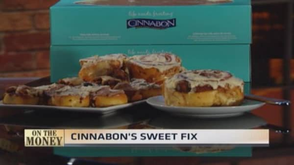 Cinnabon's sweet fix