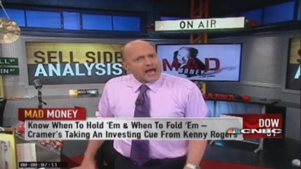 Cramer: Trim biggest gainers
