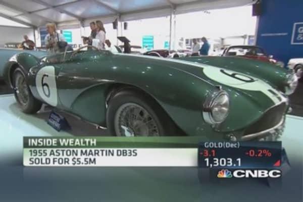 Pebble Beach car auction