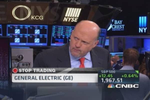 Cramer's Stop Trading: GE soul of market