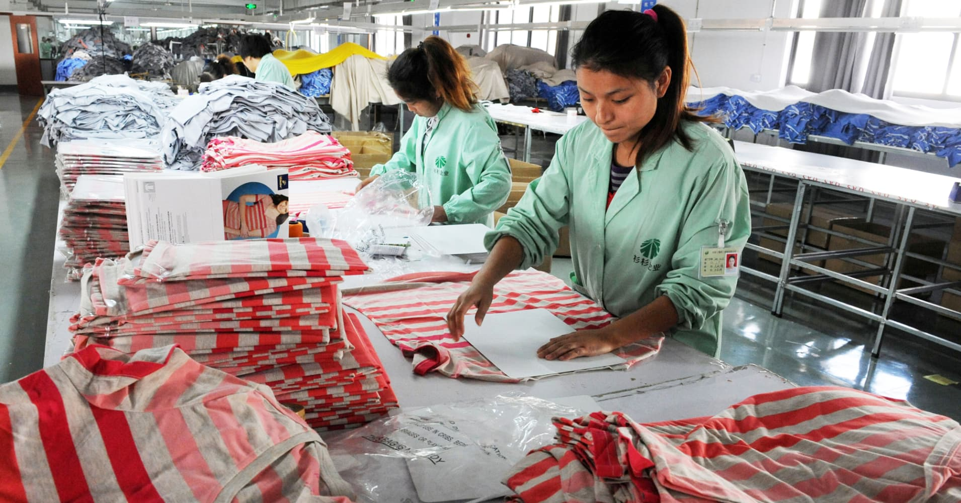 Chinese Textile Mills Are Now Hiring In Places Where