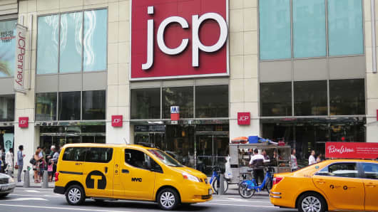 JCPenney reports a wider loss than expected, stock gets smoked