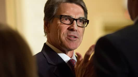 Rick Perry, governor of Texas