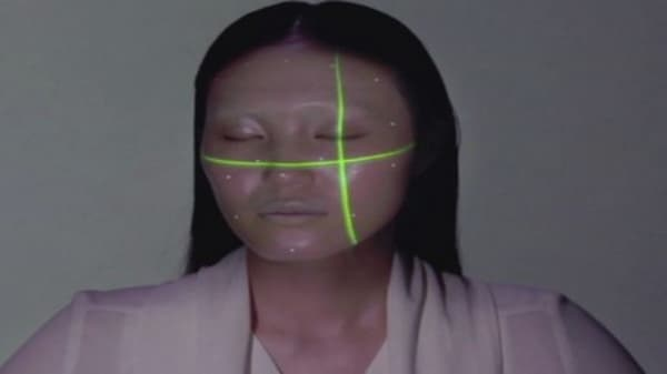 Projection mapping & electronic 'makeup'