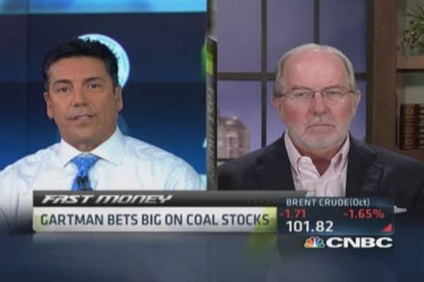 Gartman: Coal not going anywhere