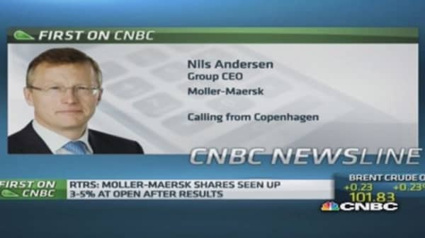 Europe has a lot of strength: Moller-Maersk CEO