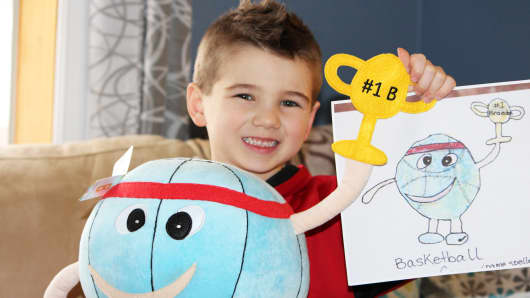 Budsies transforms your child's art into stuffed animals