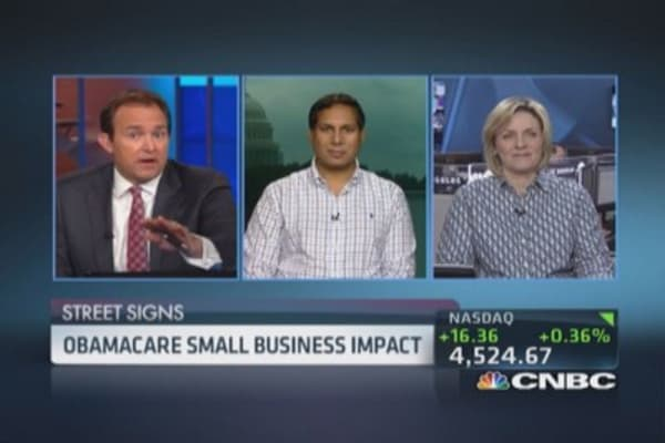 Obamacare's impact on small businesses