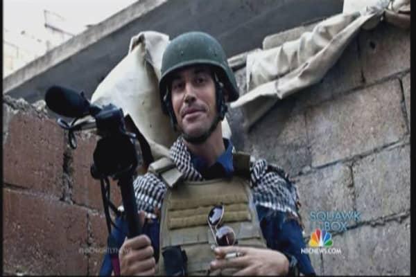 Freelance journalist James Foley