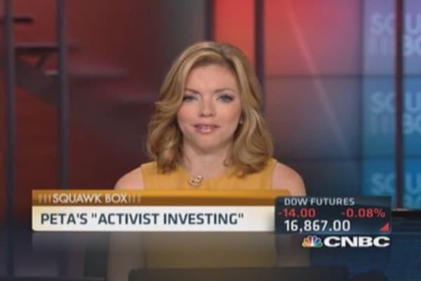 PETA's 'activist investing'