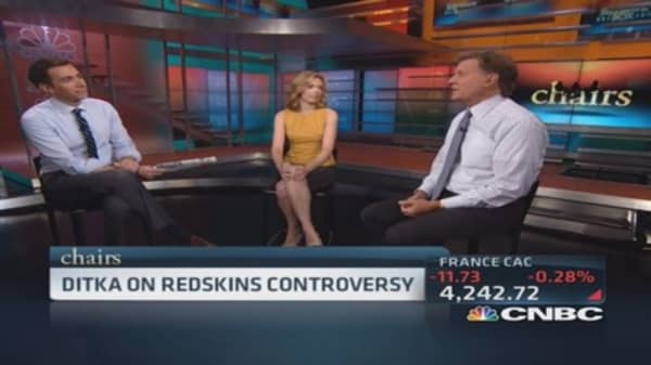 Chairs: Ditka on Redskins controversy
