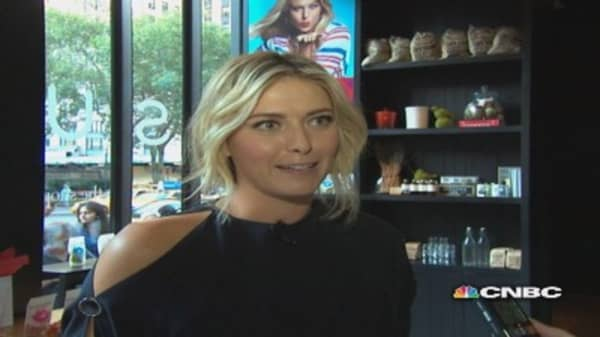 Sharapova's off the court aces