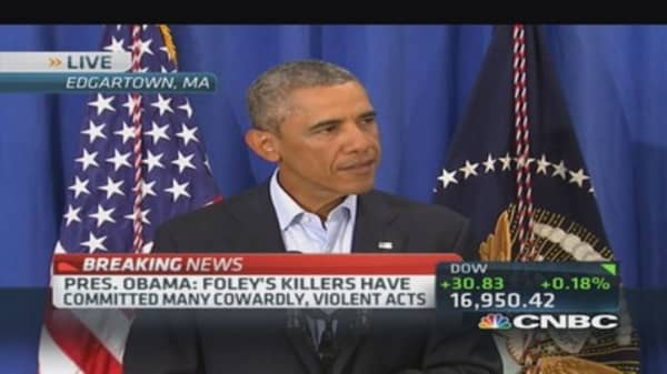 President Obama: Foley's killers committed many cowardly, violent acts