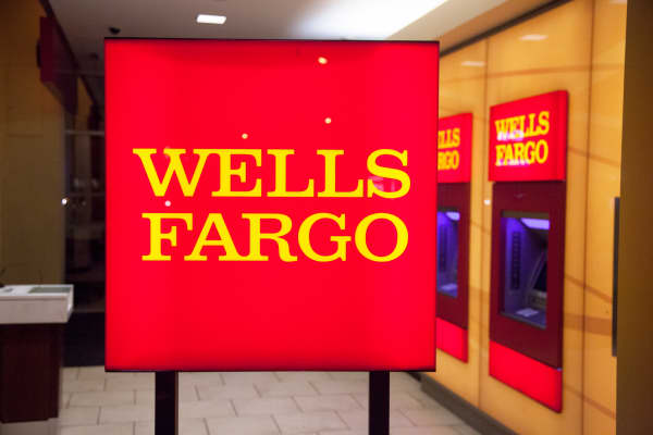 A Wells Fargo branch in New York City.