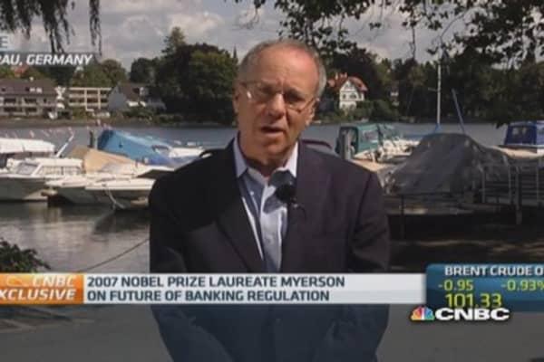 Nobel Prize Laureate on EU banking regulations