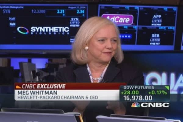 HP CEO: Announcing 3-D technology this Fall