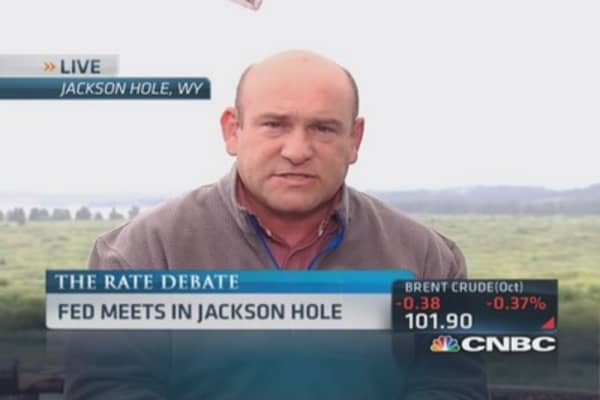 Fed issues at Jackson Hole