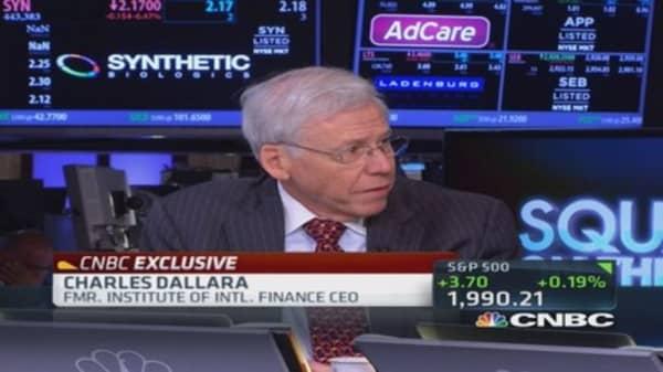 Charles Dallara on BofA: Huge mistakes were made