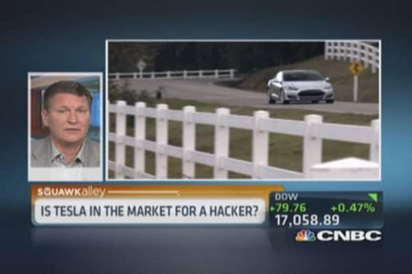 Tesla hiring hackers