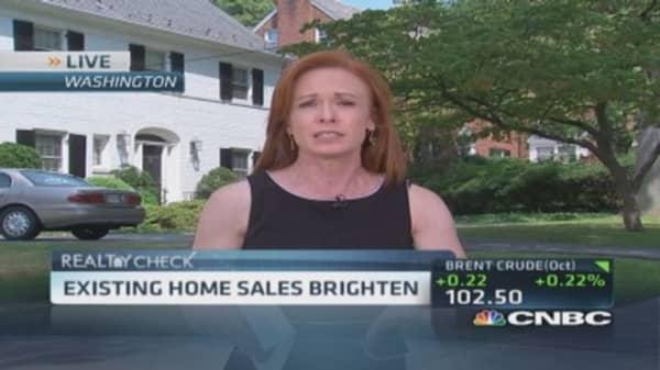 Close look at home sales data