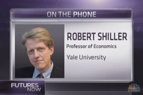 Robert Shiller: Stocks are in bubble conditions