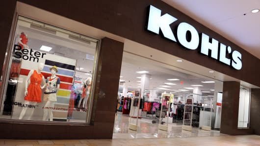 A Kohl's department store in Jersey City, New Jersey.