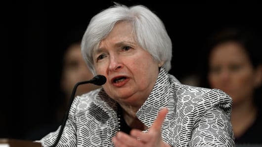 Federal Reserve Board Chairwoman Janet Yellen.