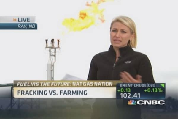 Fracking vs. farming