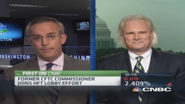 Former CFTC commissioner Chilton talks about revolving door