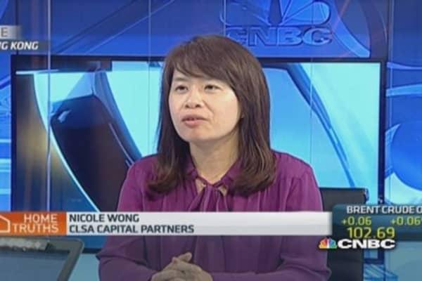 Hong Kong property price at all-time high