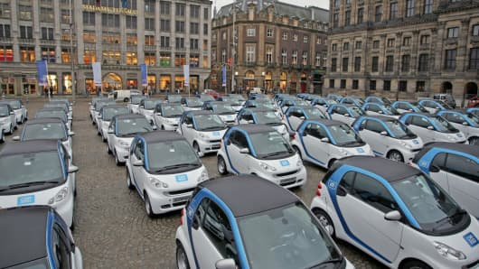 Amsterdam S Electrifying Innovative Cars