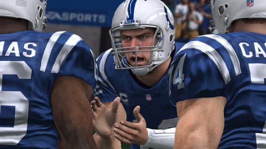 Screen image from Madden 15
