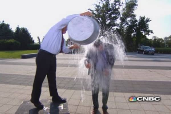 ALS ice bucket challenges: From Elon Musk to Dr. Dre